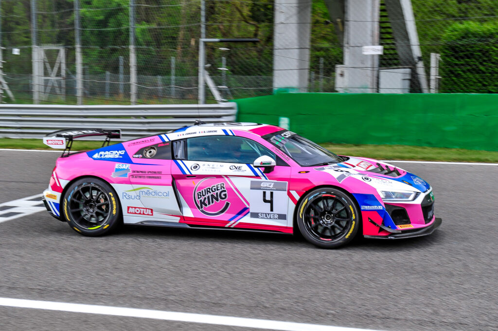 Robert Consani Banjemin Lariche Team Speedcar Audi R8 LMS GT4 GT4 European Series Monza