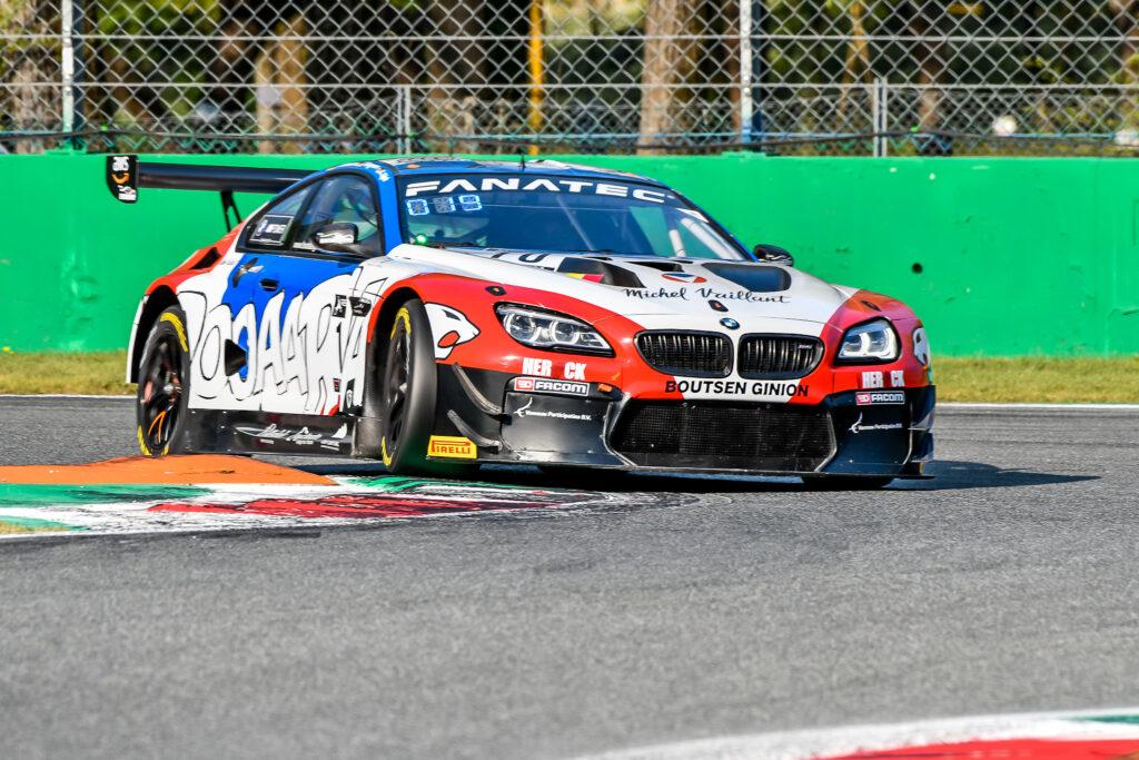 Karim Ojjeh Jens Liebhauser Jens Klingmann Boutsen Ginion Racing BMW M6 GT3 GT World Challenge Europe Endurance Cup Monza