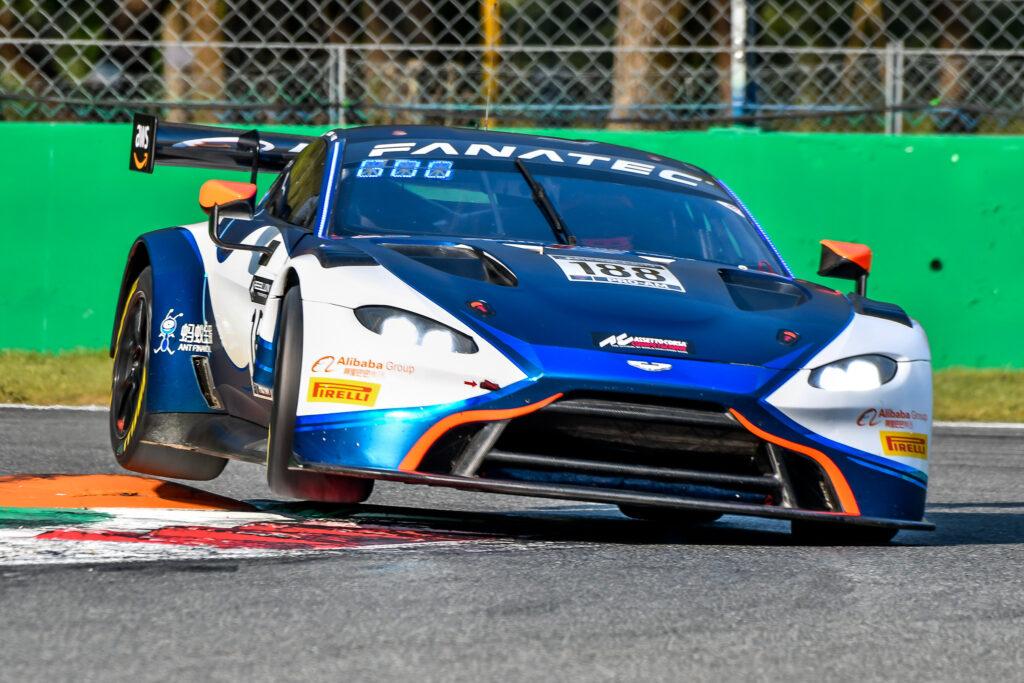 Alexander West Chris Goodwin Jonathan Adam Garage 59 Aston Martin Vantage GT3 GT World Challenge Europe Endurance Cup Monza