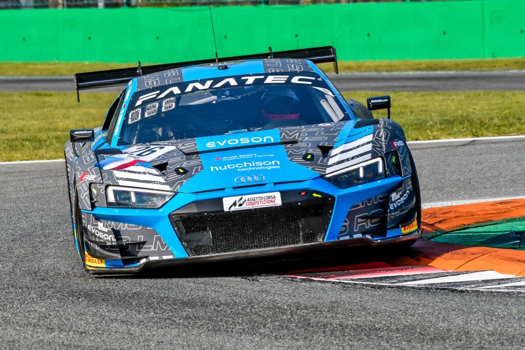 Markus Winkelhock Finlay Hutchison Frédéric Vervisch Sainteloc Racing Audi R8 LMS GT3 GT World Challenge Europe Endurance Cup Monza