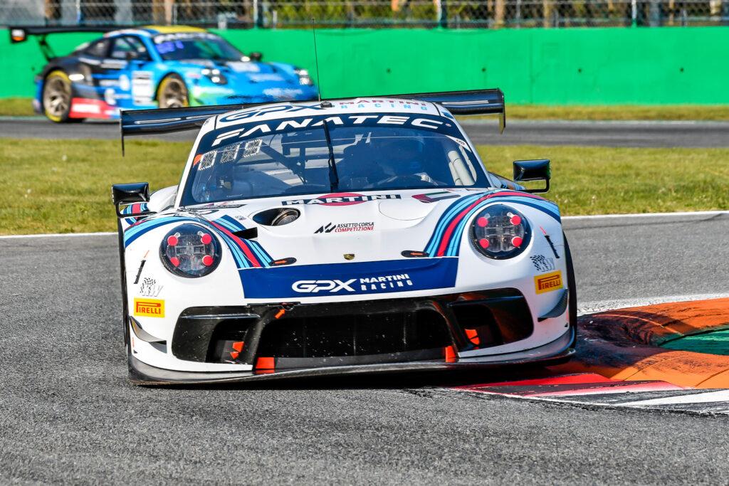 Matt Campbell Earl Bamber Mathieu Jaminet GPX Racing Porsche 911 GT3 R GT World Challenge Europe Endurance Cup Monza