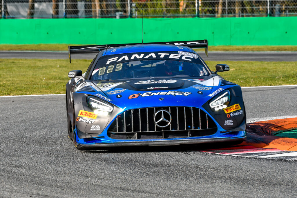 Simon Gachet Konstantin Tereschenko Thomas Drouet AKKA ASP Mercedes-AMG GT3 GT World Challenge Europe Endurance Cup Monza
