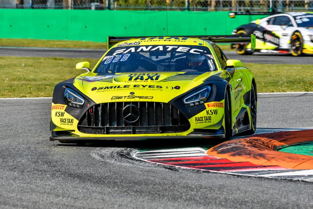 Nico Bastian Olivier Grotz Florian Scholze GetSpeed Performance Mercedes-AMG GT3 GT World Challenge Europe Endurance Cup Monza