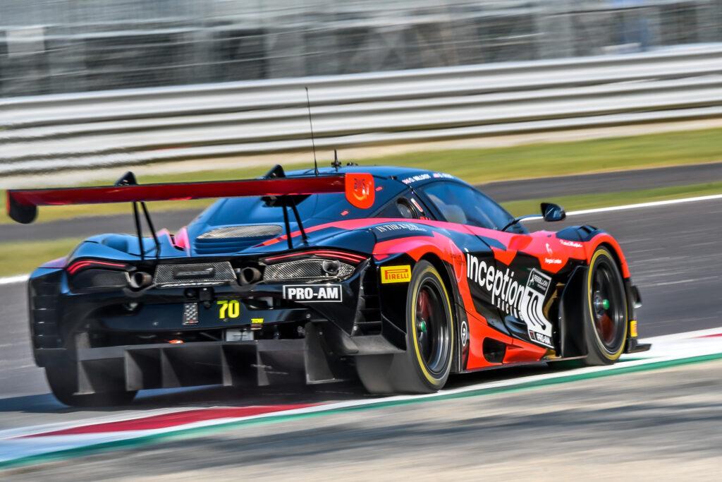 Ollie Milroy Brendan Iribe Inception Racing McLaren 720S GT3 GT World Challenge Europe Endurance Cup Monza