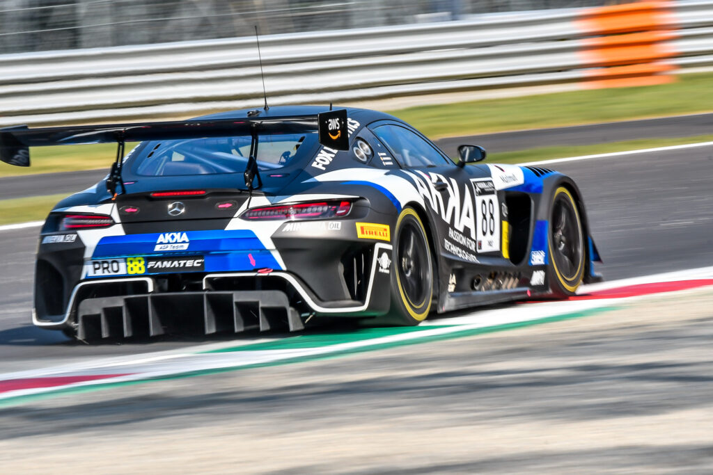 Raffaele Marciello Daniel Juncadella Jules Gounon AKKA ASP Mercedes-AMG GT3 GT World Challenge Europe Endurance Cup Monza