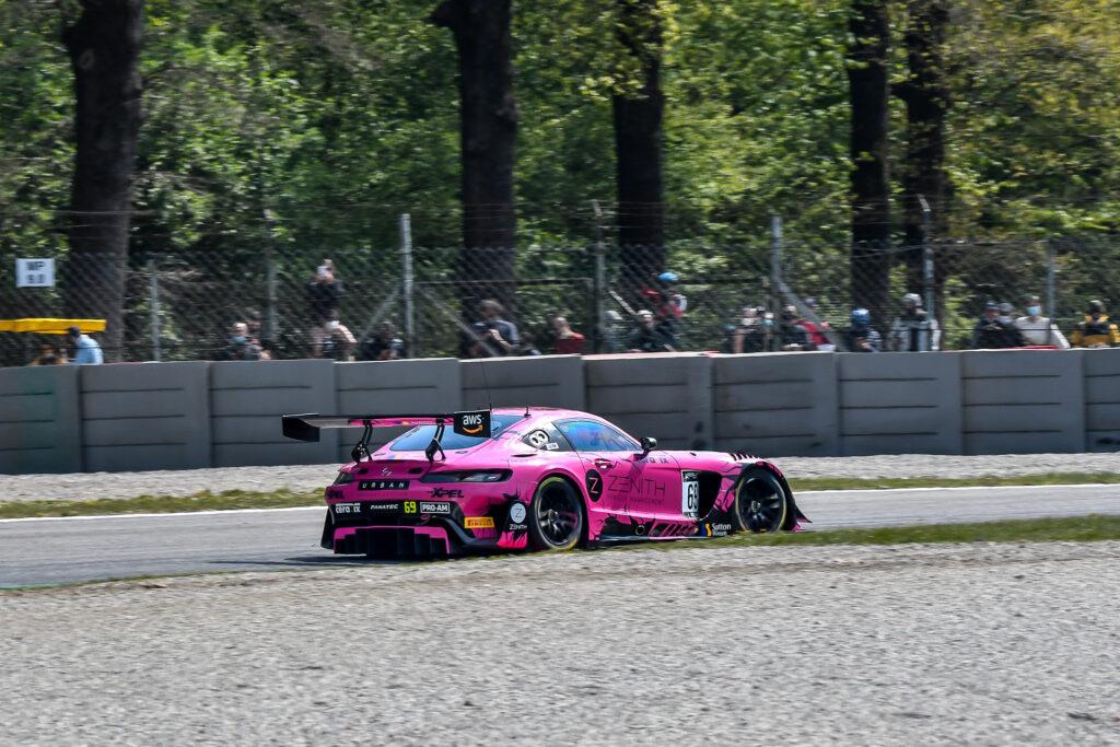 Rob Collard Sam De Haan Callum MacLeod RAM Racing Mercedes-AMG GT3 GT World Challenge Europe Endurance Cup Monza