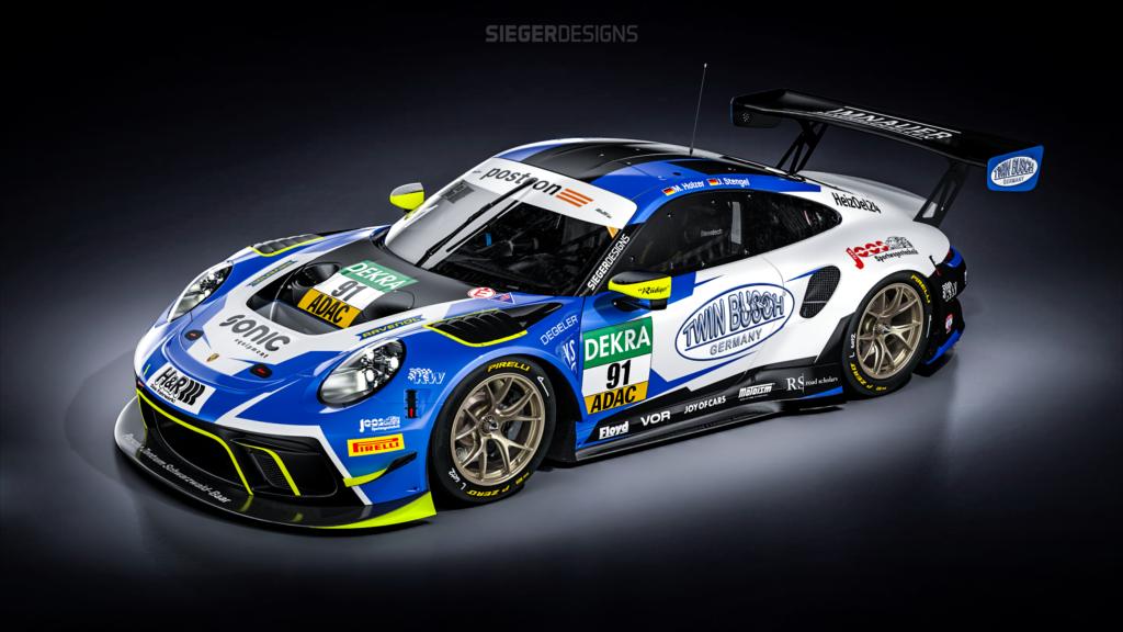 Marco Holzer Johannes Stengel Joos Sportwagentechnik Porsche 911 GT3 R ADAC GT Masters