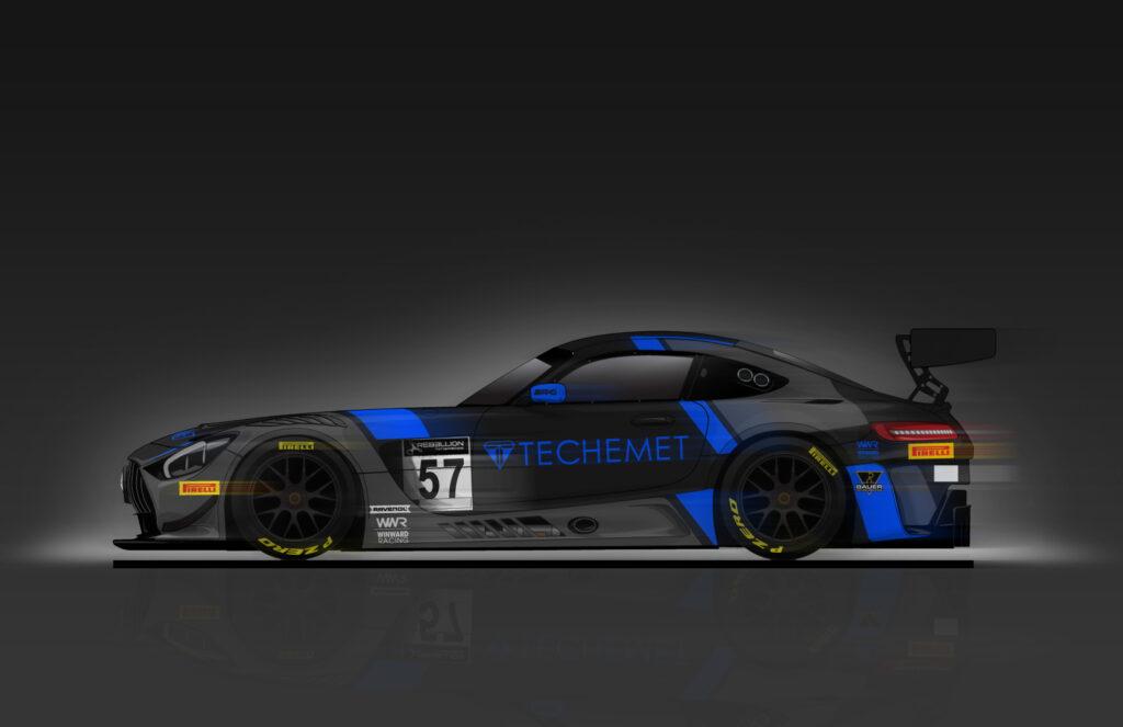 WINWARD Racing Mercedes-AMG GT3