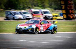 Rodolphe Wallgren Gaël Castelli Mirage Racing Alpine A110 GT4 Mirage Racing Alpine A110 GT4 FFSA GT Nogaro