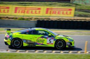 Christophe Hamon Pascal Huteau Full Motorsport Audi R8 LMS GT4 FFSA GT Nogaro