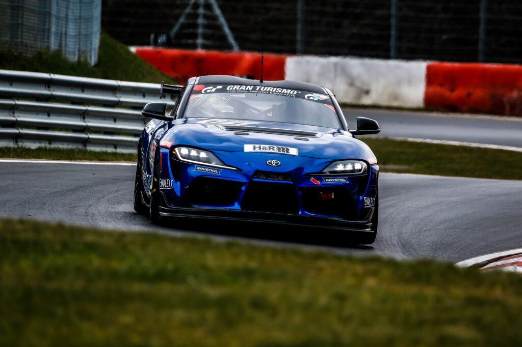 Andreas Gülden Michael Tischner Ring Racing Toyota GR Supra GT4 Nürburgring Langstrecken-Serie Nürburgring-Nordschleife