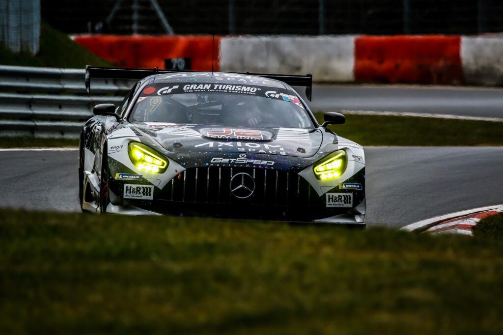 Janine Shoffner Moritz Kranz GetSpeed Performance Mercedes-AMG GT3 Nürburgring Langstrecken-Serie Nürburgring-Nordschleife