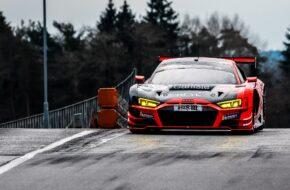 Lorenzo Rocco di Torrepadula Patrick Kolb Patric Niederhauser Lionspeed GP Audi R8 LMS GT3 Nürburgring Langstrecken-Serie Nürburgring-Nordschleife