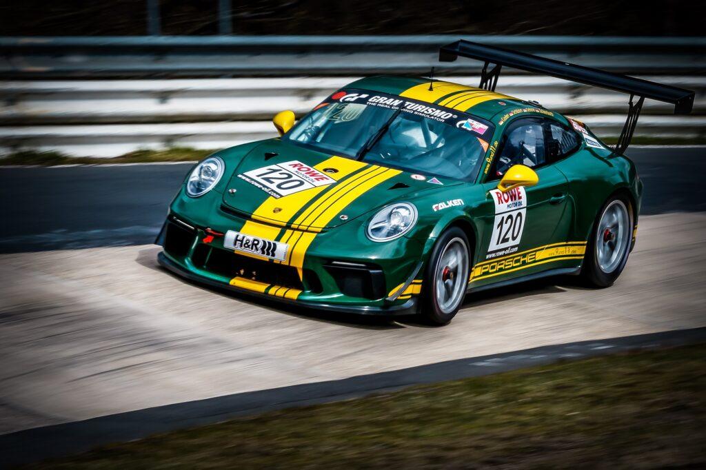 Georg Goder Ralf Oehme Martin Schlüter 9und11 Racing Team Porsche 911 GT3 Cup Nürburgring Langstrecken-Serie Nürburgring-Nordschleife