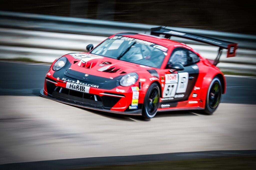 Paul Harkema Niels Langeveld Black Falcon Porsche 911 GT3 Cup MR Nürburgring Langstrecken-Serie Nürburgring-Nordschleife