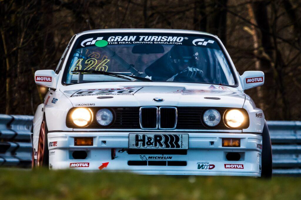 Konstantin Wolf Christian Hirsch BMW M3 E30 Nürburgring Langstrecken-Serie Nürburgring-Nordschleife