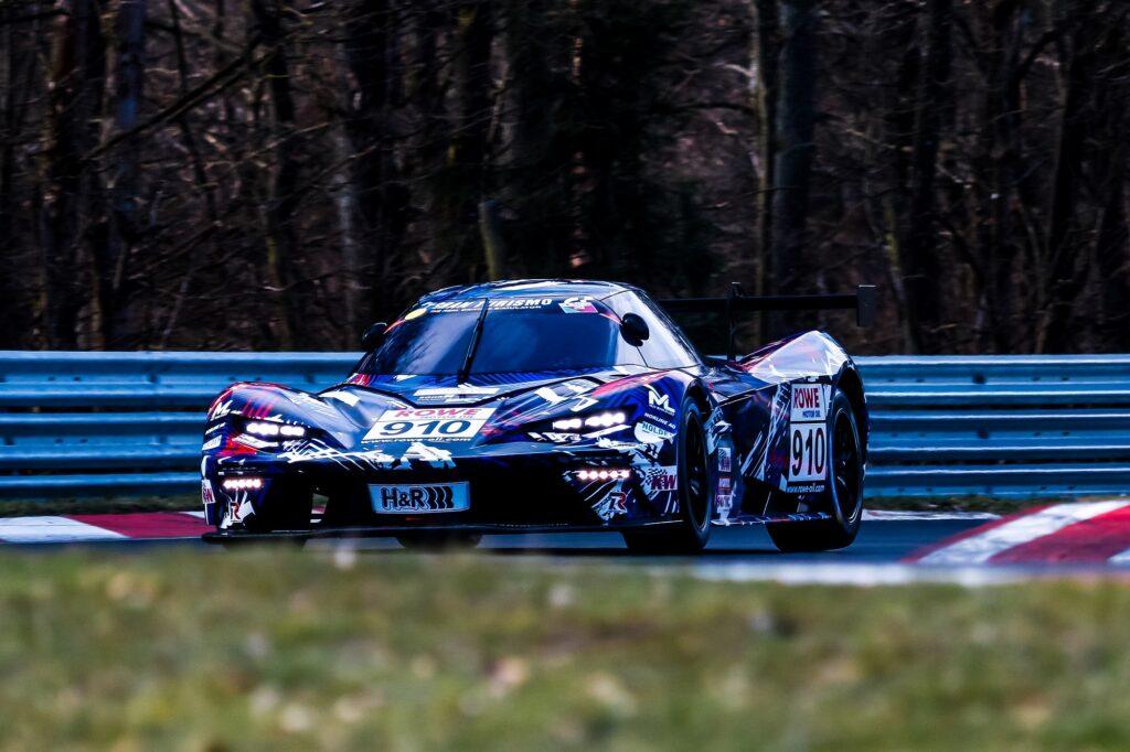 Daniel Bohr Reinhard Kofler Timo Mölig Teichmann Racing KTM X-Bow GTX Nürburgring Langstrecken-Serie Nürburgring-Nordschleife
