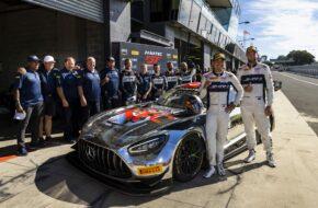 Prince Jefri Ibrahim Shane van Gisbergen Triple Eight Race Engineering Mercedes-AMG GT3 GT World Challenge Australia Bathurst
