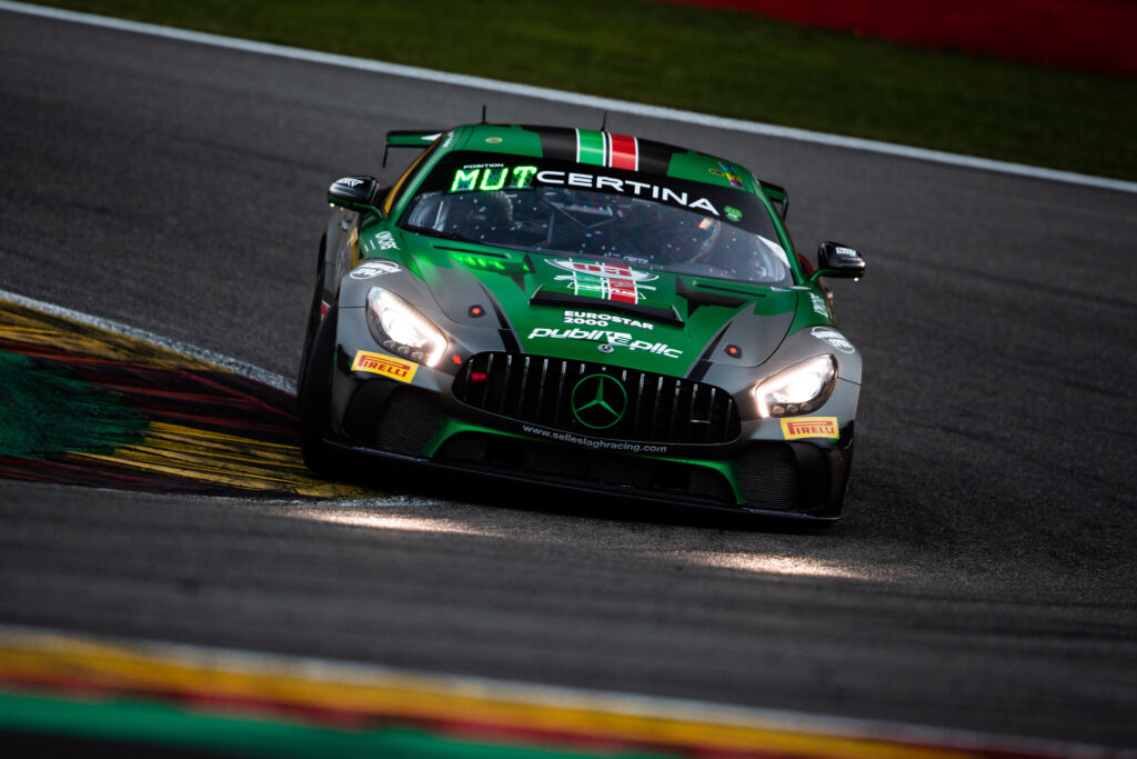 Willem Meijer Esteban Muth Selleslagh Racing Team Mercedes-AMG GT4 GT4 European Series Spa Francorchamps