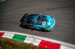 Joel Sturm Nicolaj Møller Madsen Allied-Racing Porsche 718 Cayman GT4 Clubsport MR GT4 European Series Monza