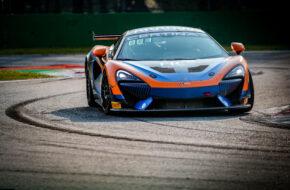 Bailey Voisin Charlie Fagg United Autosports McLaren 570S GT4 GT4 European Series Monza