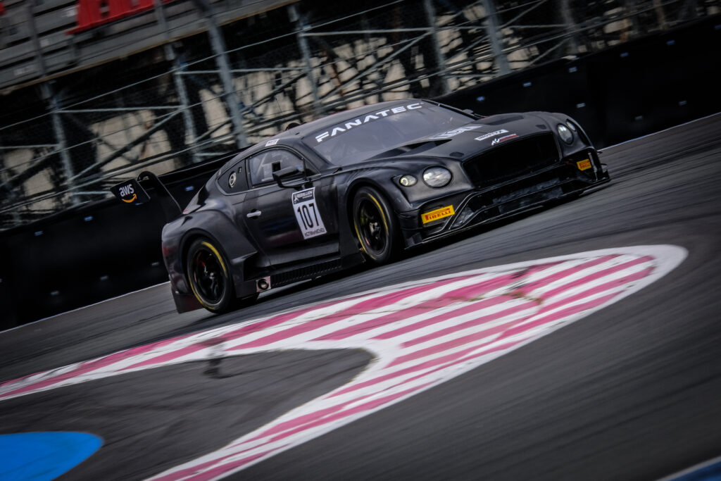 Nelson Panciatici Stuart White Classic and Modern Racing Bentley Continental GT3 GT World Challenge Europe Le Castellet
