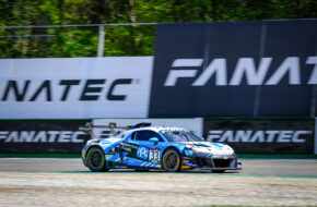 Anders Fjordbach Mark Patterson High Class Racing Audi R8 LMS GT2 GT2 European Series Monza