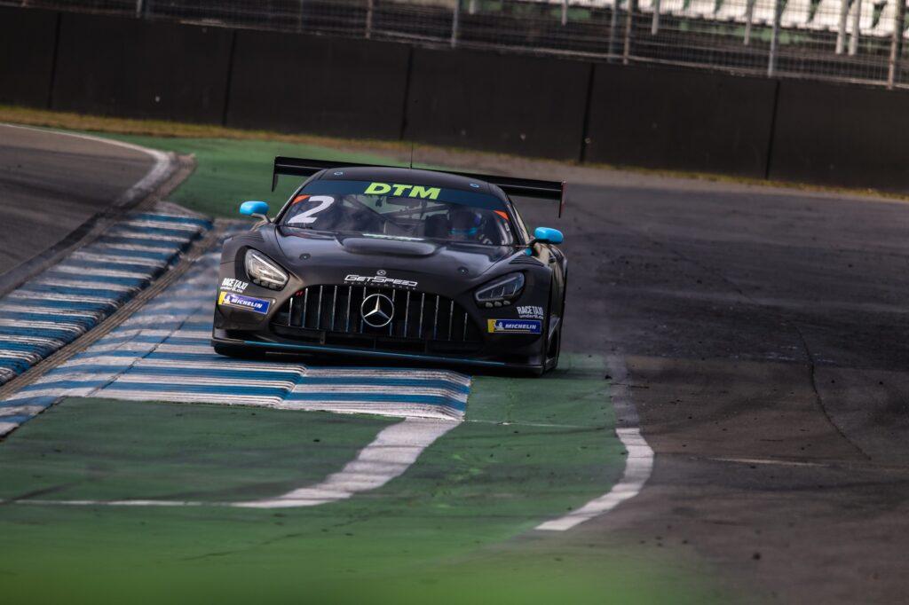 Arjun Maini Fabian Schiller GetSpeed Performance Mercedes-AMG GT3 DTM Hockenheim