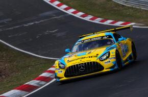 Adam Christodoulou Luca Stolz Manuel Metzger Haupt Racing Team Mercedes-AMG GT3 Nürburgring Langstrecken-Serie Nürburgring-Nordschleife