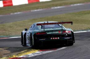 Markus Winkelhock Carrie Schreiner Phoenix Racing Audi R8 LMS GT3 GTC Race Nürburgring