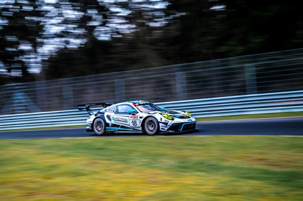 Marco Holzer Edoardo Liberati KCMG Porsche 911 GT3 R Nürburgring Langstrecken-Serie Nürburgring-Nordschleife