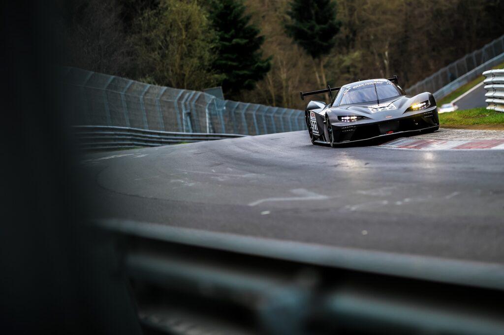 Christian Menzel Reinhard Kofler True Racing KTM X-Bow GTX Nürburgring Langstrecken-Serie Nürburgring-Nordschleife