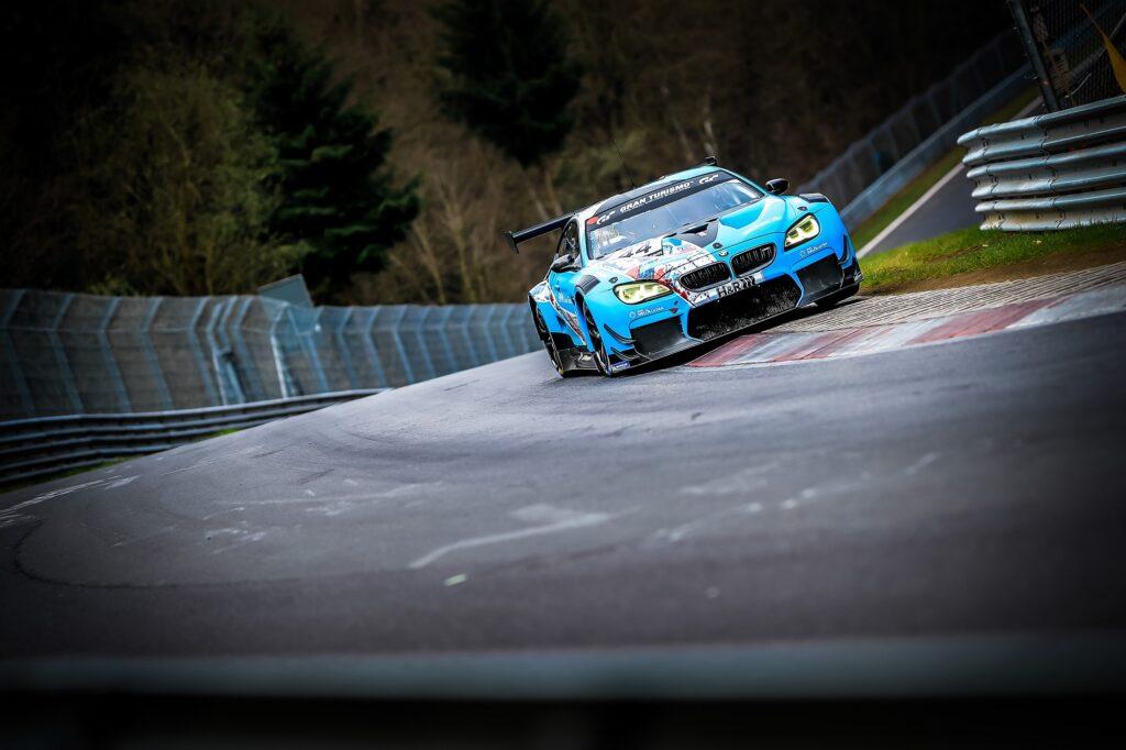 Dan Harper Max Hesse Neil Verhagen Augusto Farfus BMW Junior Team BMW M6 GT3 Nürburgring Langstrecken-Serie Nürburgring-Nordschleife