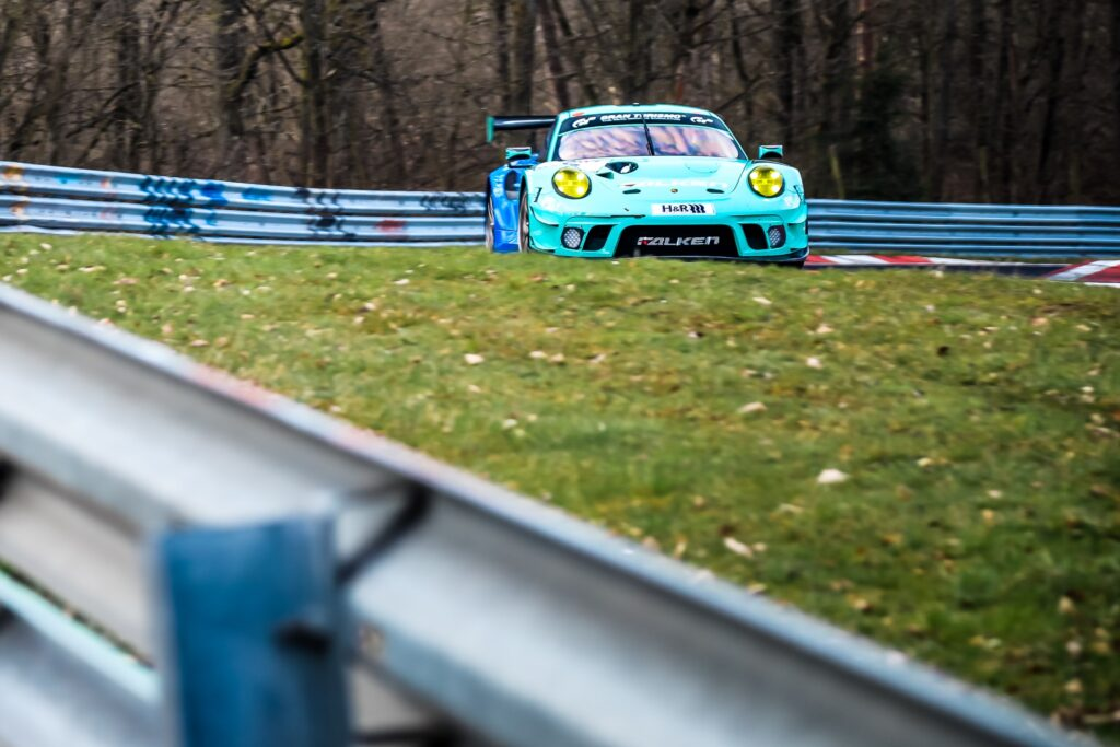 Alessio Picariello Dirk Werner Falken Motorsports Porsche 911 GT3 R Nürburgring Langstrecken-Serie Nürburgring-Nordschleife