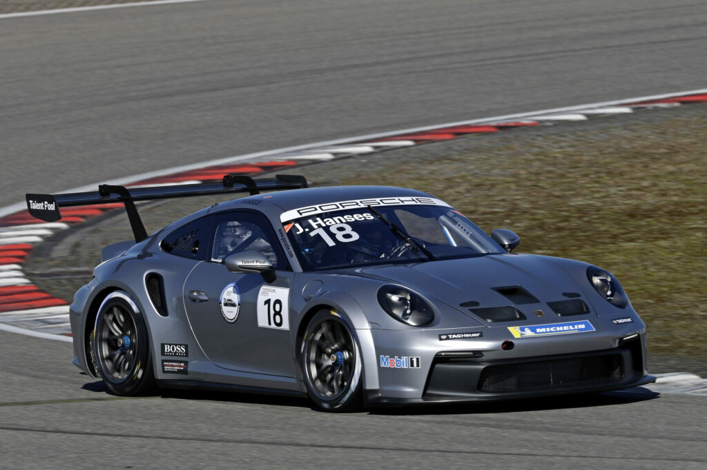 Julian Hanses HRT Performance Porsche 911 GT3 Cup Porsche Carrera Cup Deutschland Nürburgring