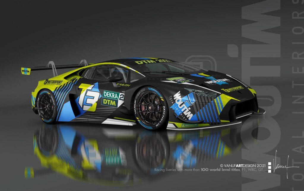 Esteban Muth T3 Motorsport Lamborghini Huracan GT3 DTM