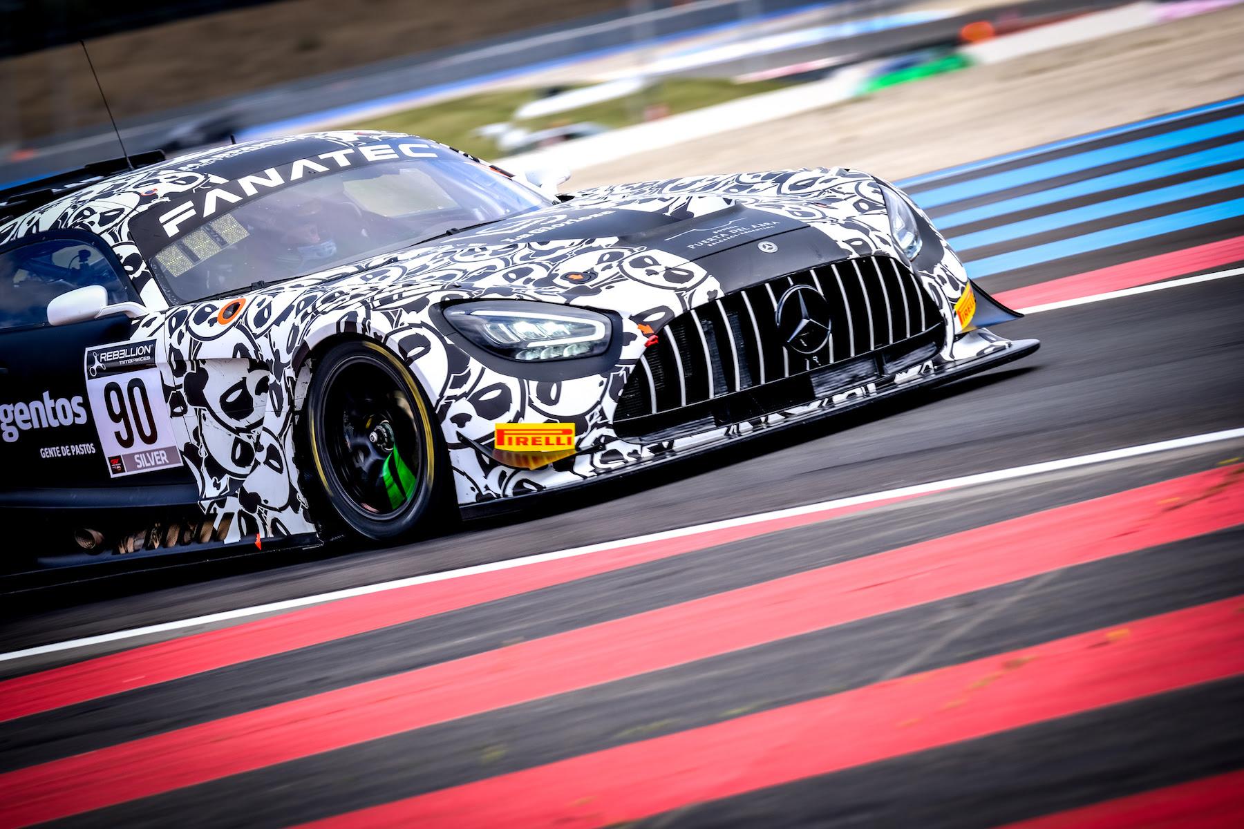Rik Breukers Ezequiel Perez Companc Madpanda Motorsport Mercedes-AMG GT3 GT World Challenge Europe Le Castellet