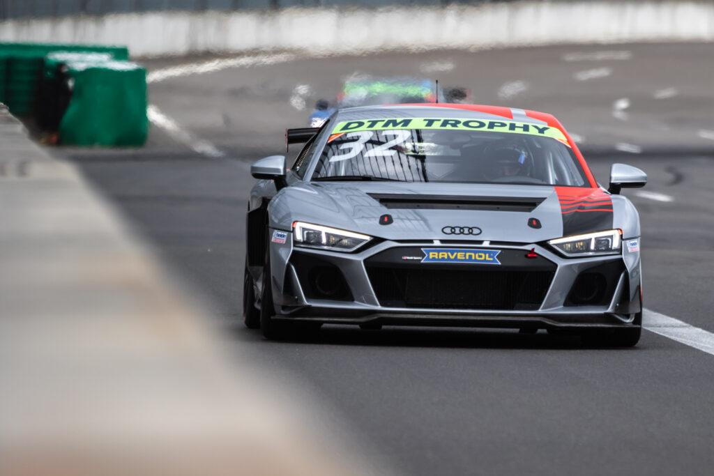 Lucas Mauron Heide-Motorsport Audi R8 LMS GT4 DTM Trophy Lausitzring