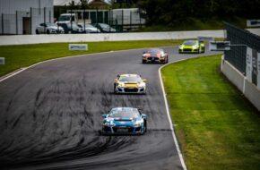 Fabien Michal Grégory Guilvert Sainteloc Racing Audi R8 LMS GT4 FFSA GT Magny Cours