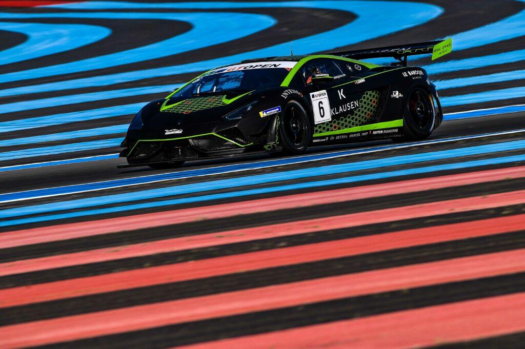 François Grimm Boutsen Ginion Racing Lamborghini Gallardo GT3 R-EX International GT Open Le Castellet