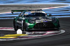 Nico Bastian Markus Sattler WINWARD Racing Mercedes-AMG GT3 International GT Open Le Castellet