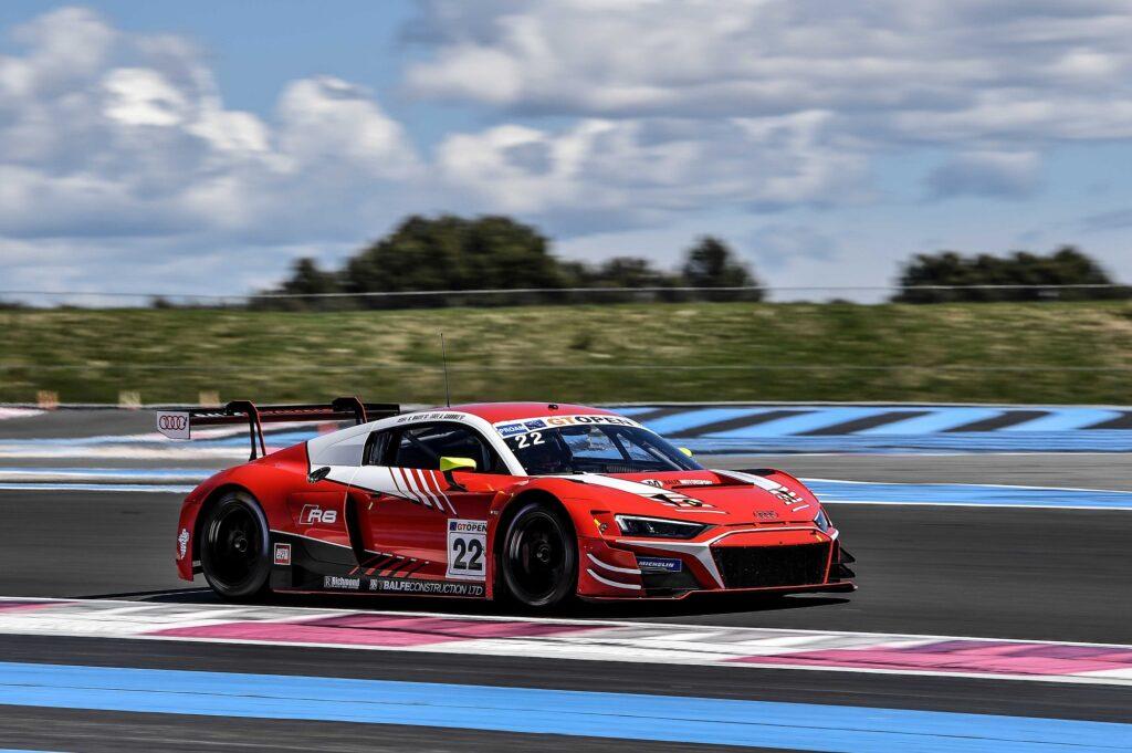 Adam Carroll Shaun Balfe Balfe Motorsport Audi R8 LMS GT3 International GT Open Le Castellet