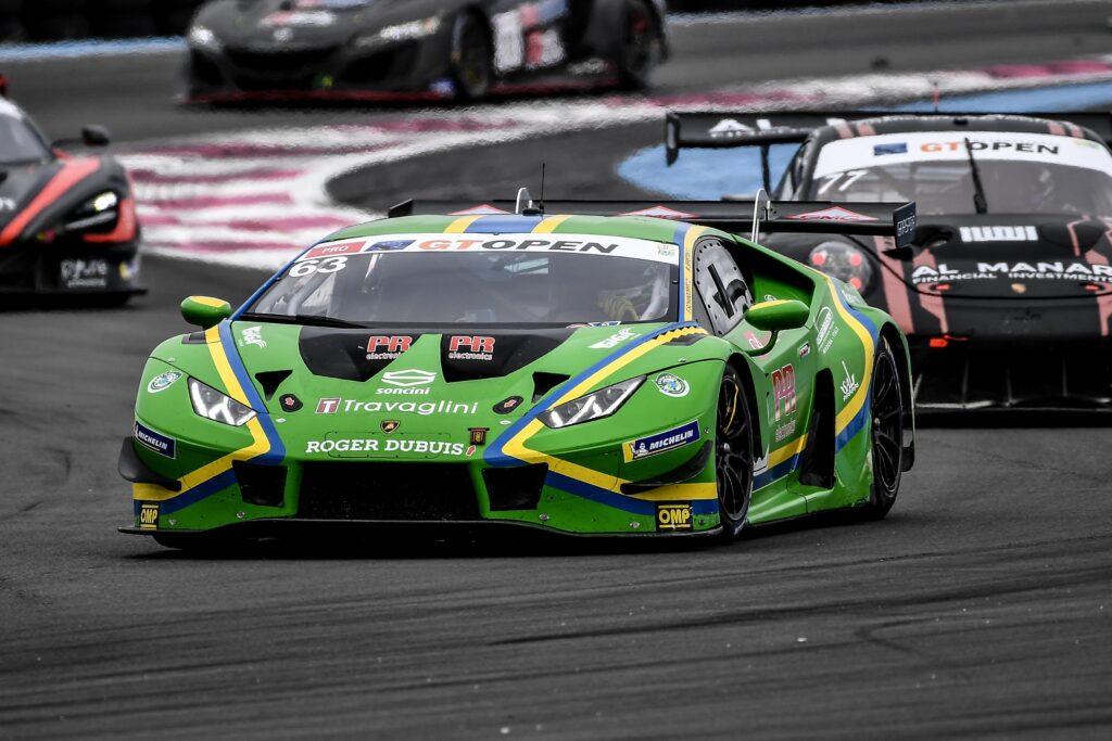 Michele Beretta Frederik Scharndorff Vincenzo Sospiri Racing Lamborghini Huracan GT3 International GT Open Le Castellet