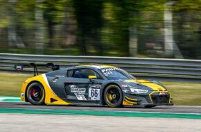 Christopher Mies Mattia Drudi Kim-Luis Schramm Attempto Racing Audi R8 LMS GT3 GT World Challenge Europe Monza