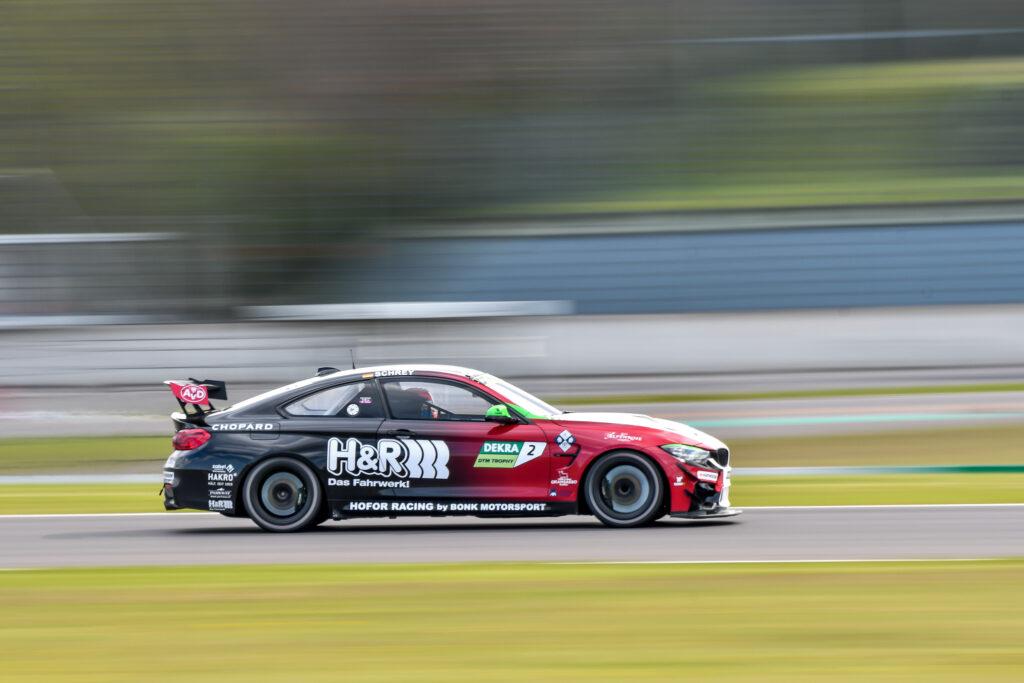Michael Schrey Hofor Racing by Bonk Motorsport BMW M4 GT4 DTM Trophy Lausitzring