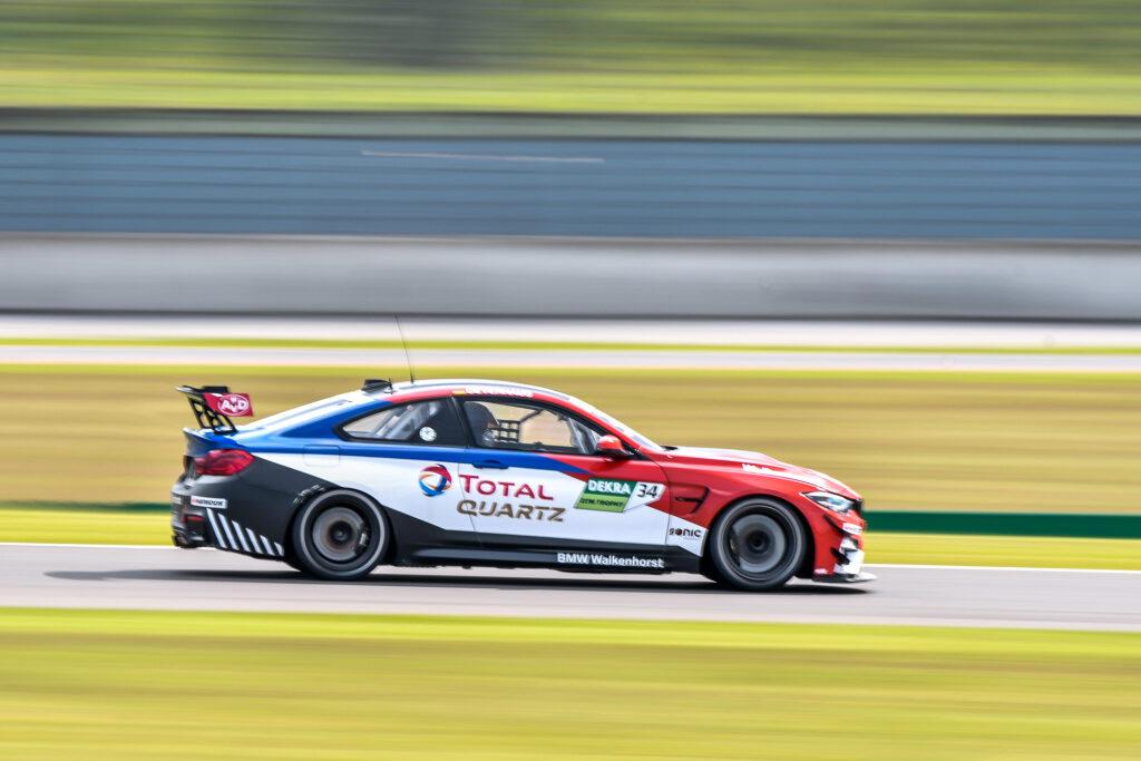 Theo Oeverhaus Walkenhorst Motorsport BMW M4 GT4 DTM Trophy Lausitzring