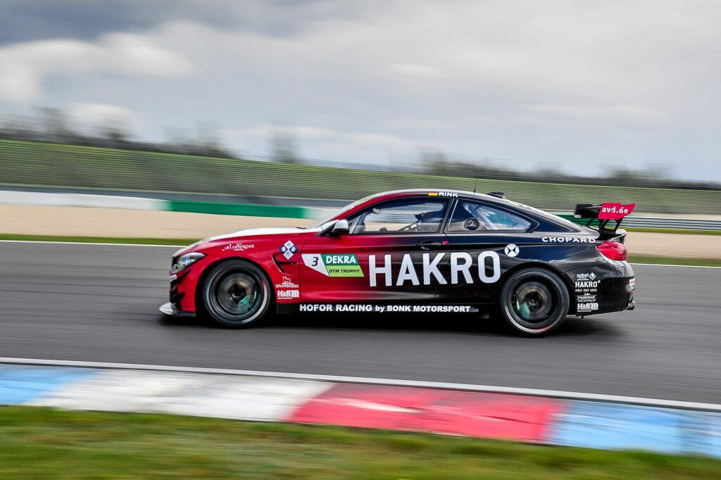 Christopher Ring Hofor Racing by Bonk Motorsport BMW M4 GT4 DTM Trophy Lausitzring