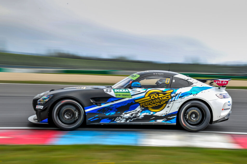 Will Tregurtha CV Performance Group Mercedes-AMG GT4 DTM Trophy Lausitzring