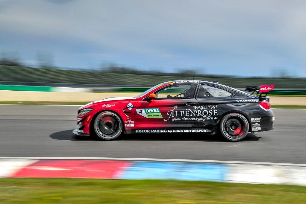 Philipp Stahlschmidt Hofor Racing by Bonk Motorsport BMW M4 GT4 DTM Trophy Lausitzring
