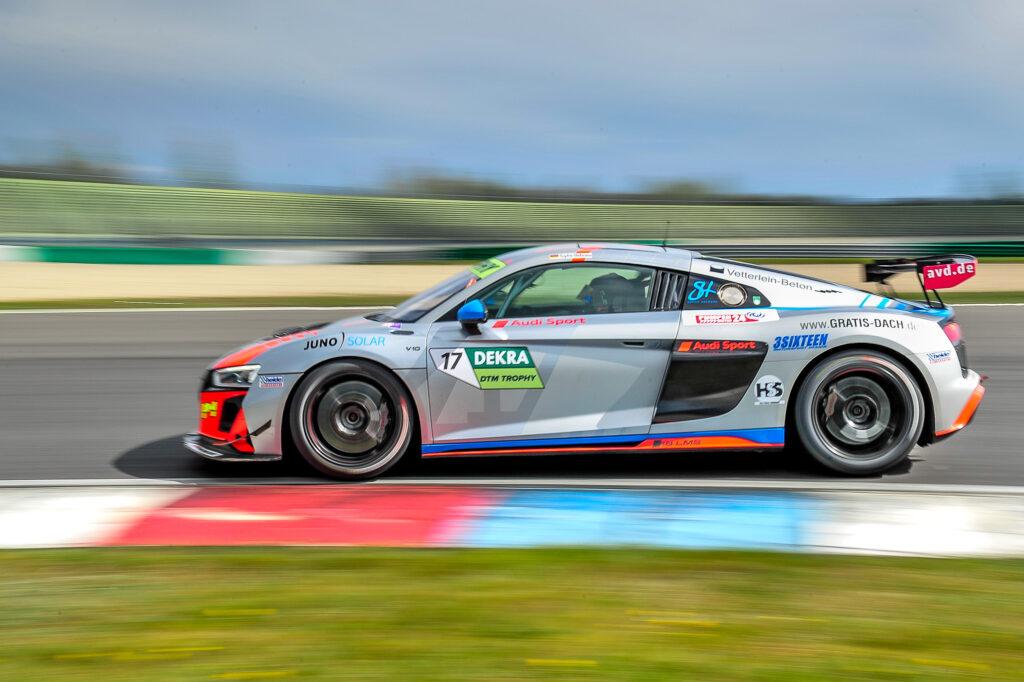 Sophie Hofmann Heide-Motorsport Audi R8 LMS GT4 DTM Trophy Lausitzring